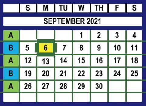 September 2021 Trash and Recycling Calendar